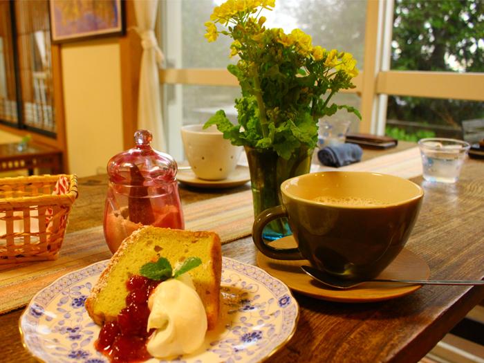 cafe&ガラス工房「海遊魚」