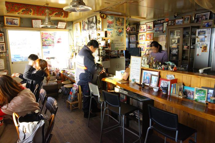 音楽と珈琲の店「岬」カフェ