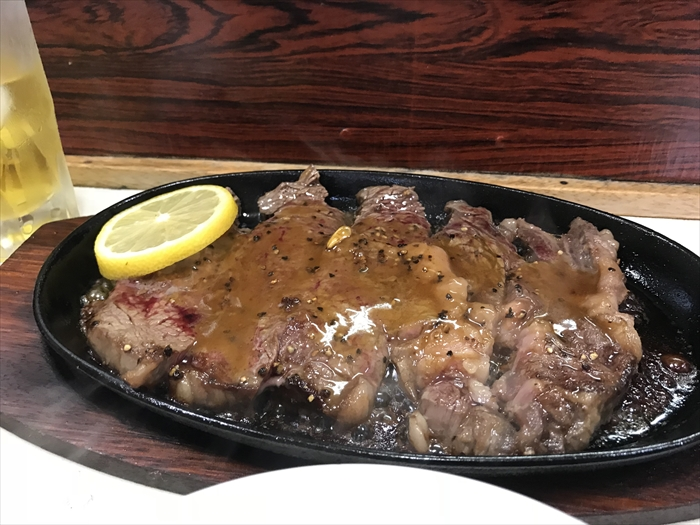 フレッシュマート三平 ステーキ